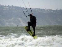kite surf Аспарухово вятър