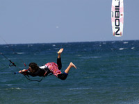 No pain no game kitesurf bomb