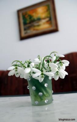 пролетни цветя кокичета
