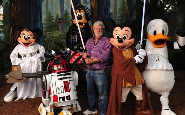 George продаде Disney