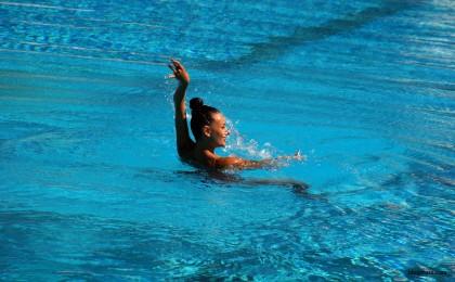 соло синхронно плуване